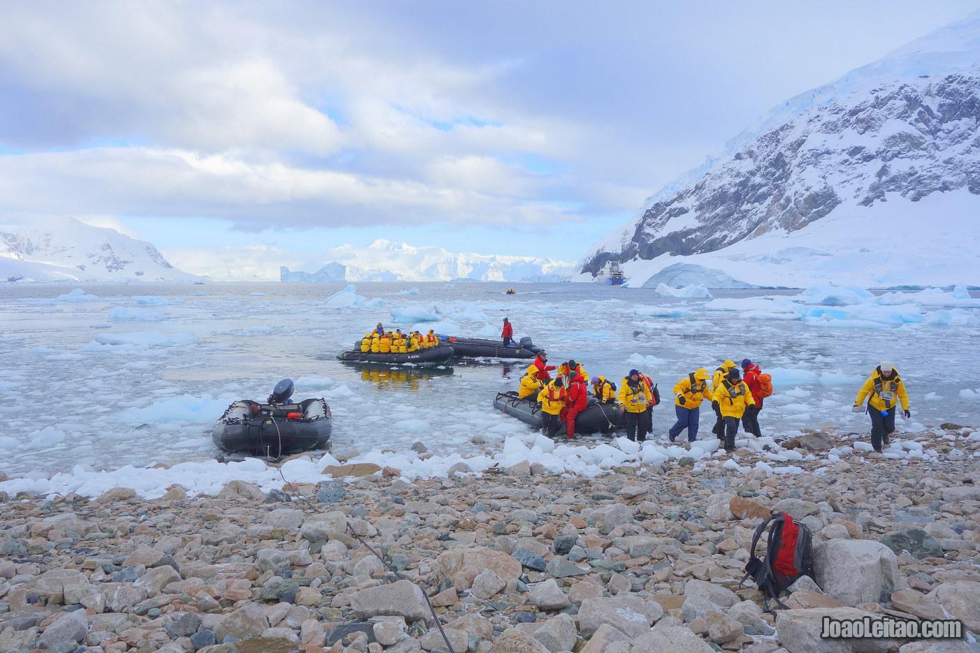 Como é visitar a Antártida em Novembro?