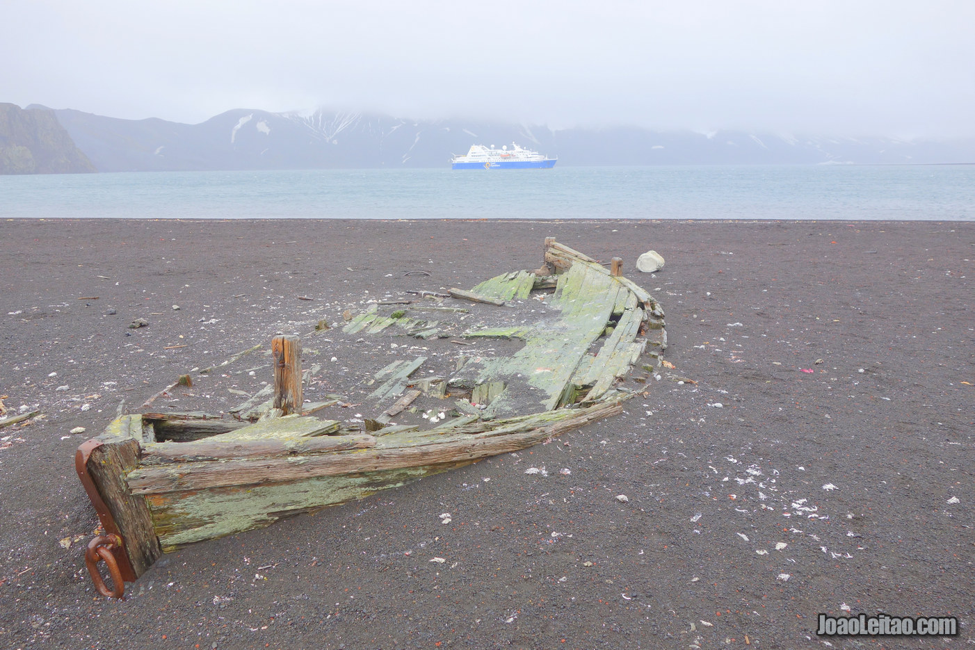 Deception Island na Antártida