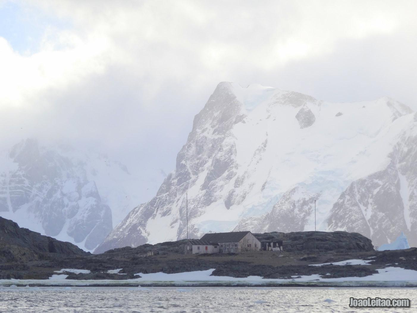 Ilha da Ferradura na Antártida