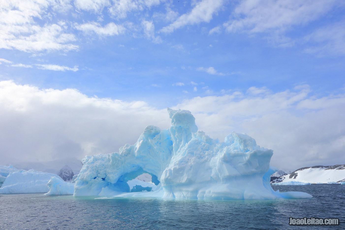 Horseshoe Island na Antártida