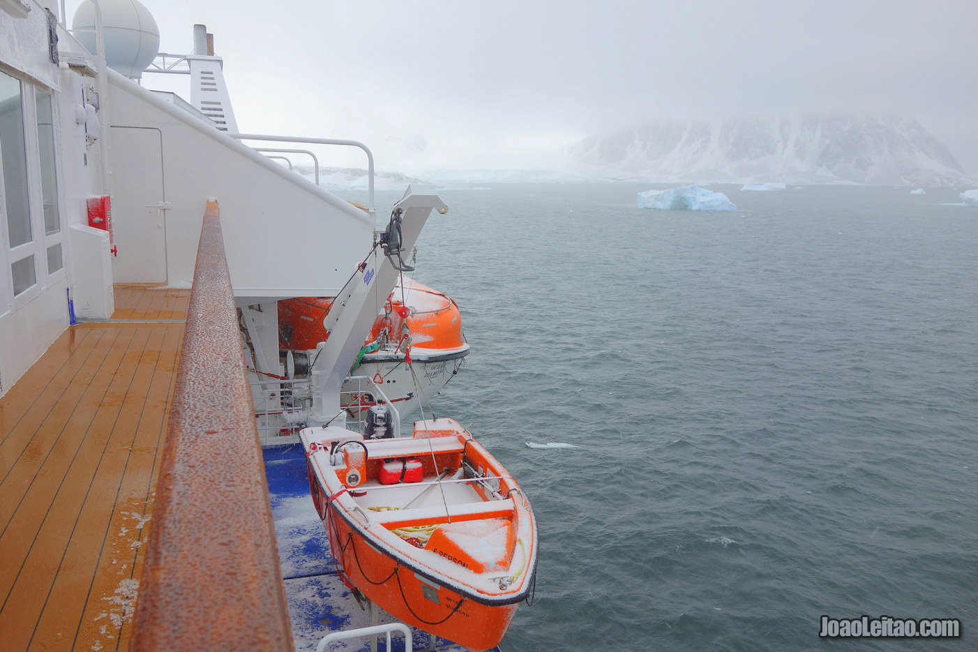 Ilha de Adelaide na Antártida