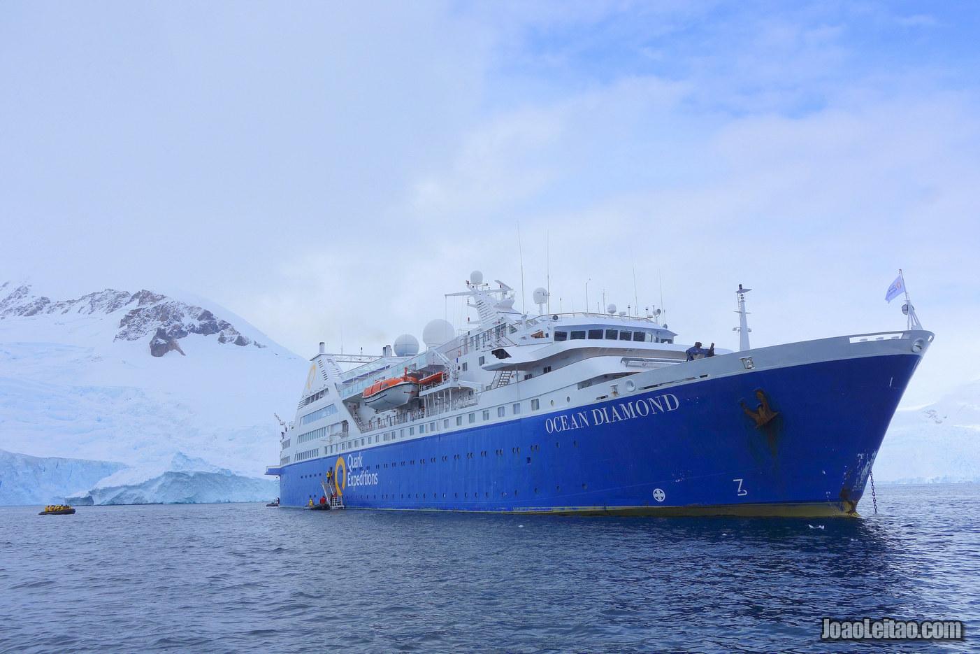 Neko Harbour na Antártida