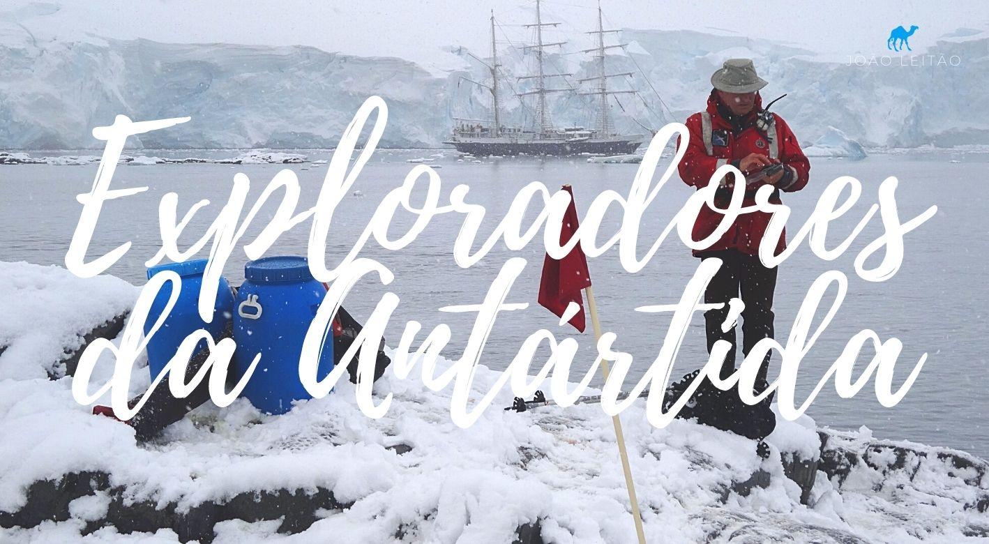 Os Exploradores da Antártida
