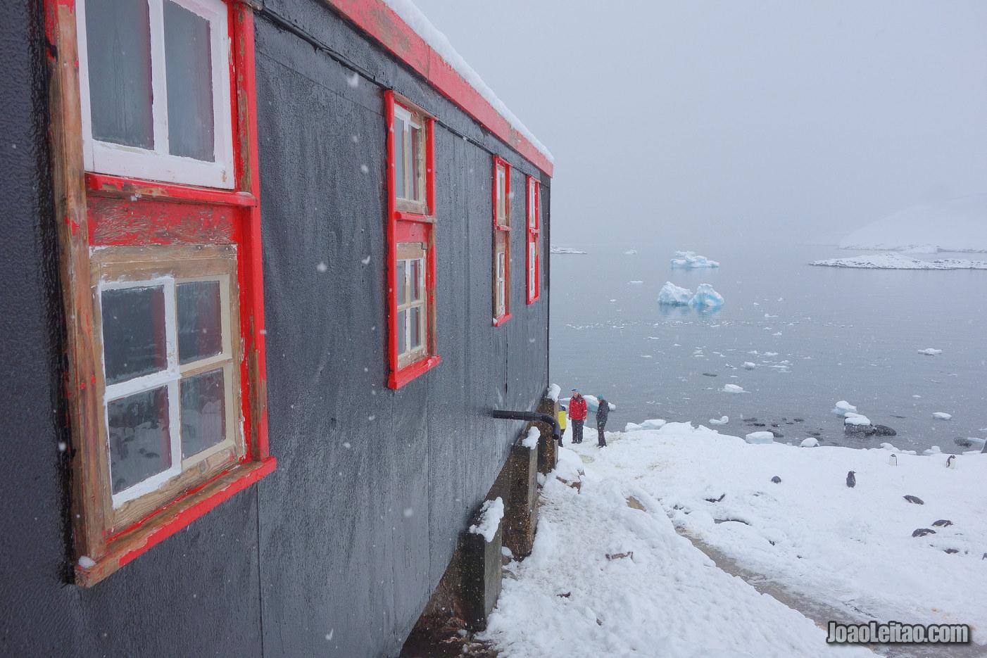 Port Lockroy na Antártida