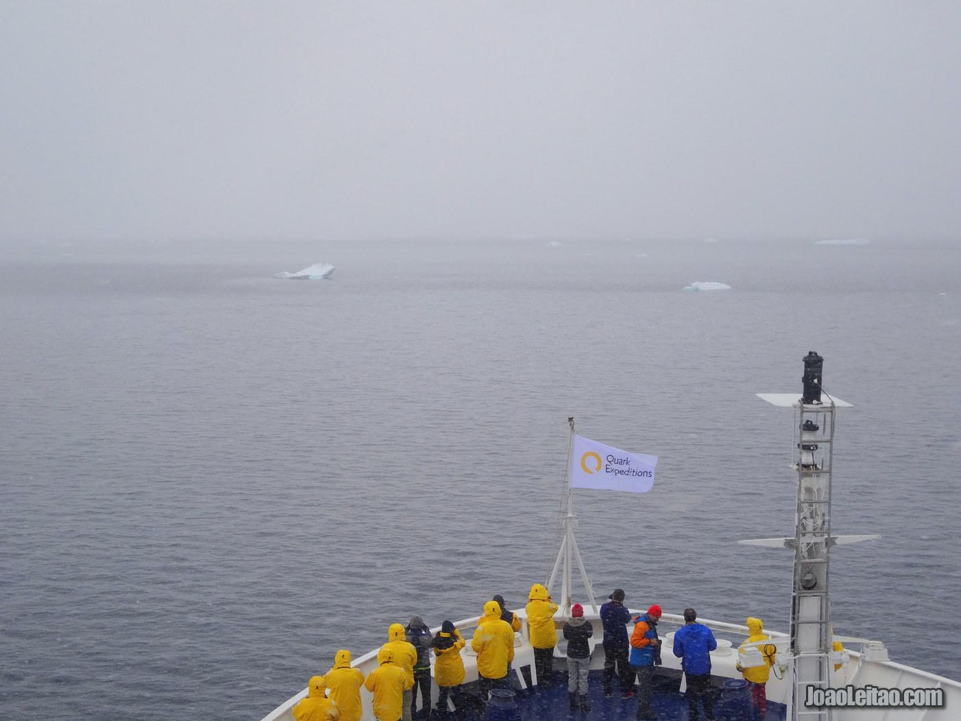 Wilhelmina Bay na Antártida