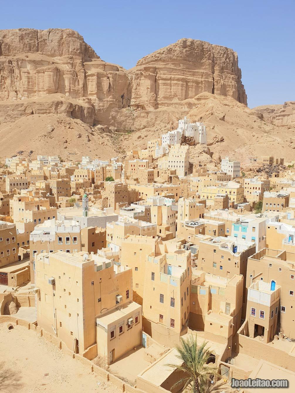 BLOG DE VIAGENS Vila de Sif no Iémen