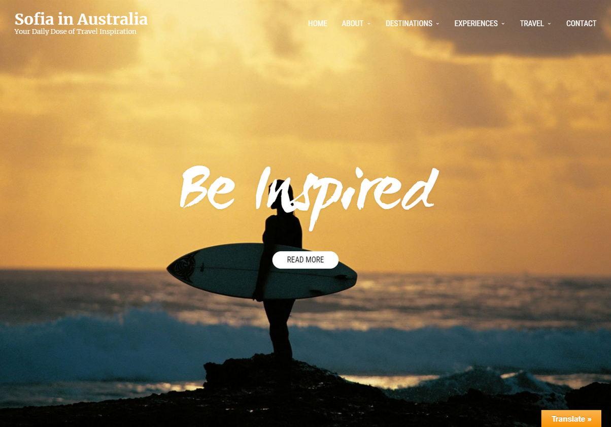 Blog Sofia in Australia