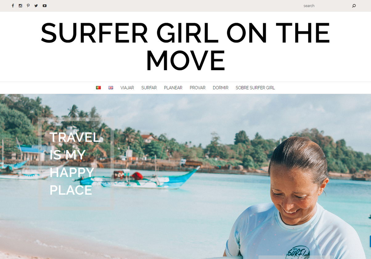 Blog Surfer Girl on the Move