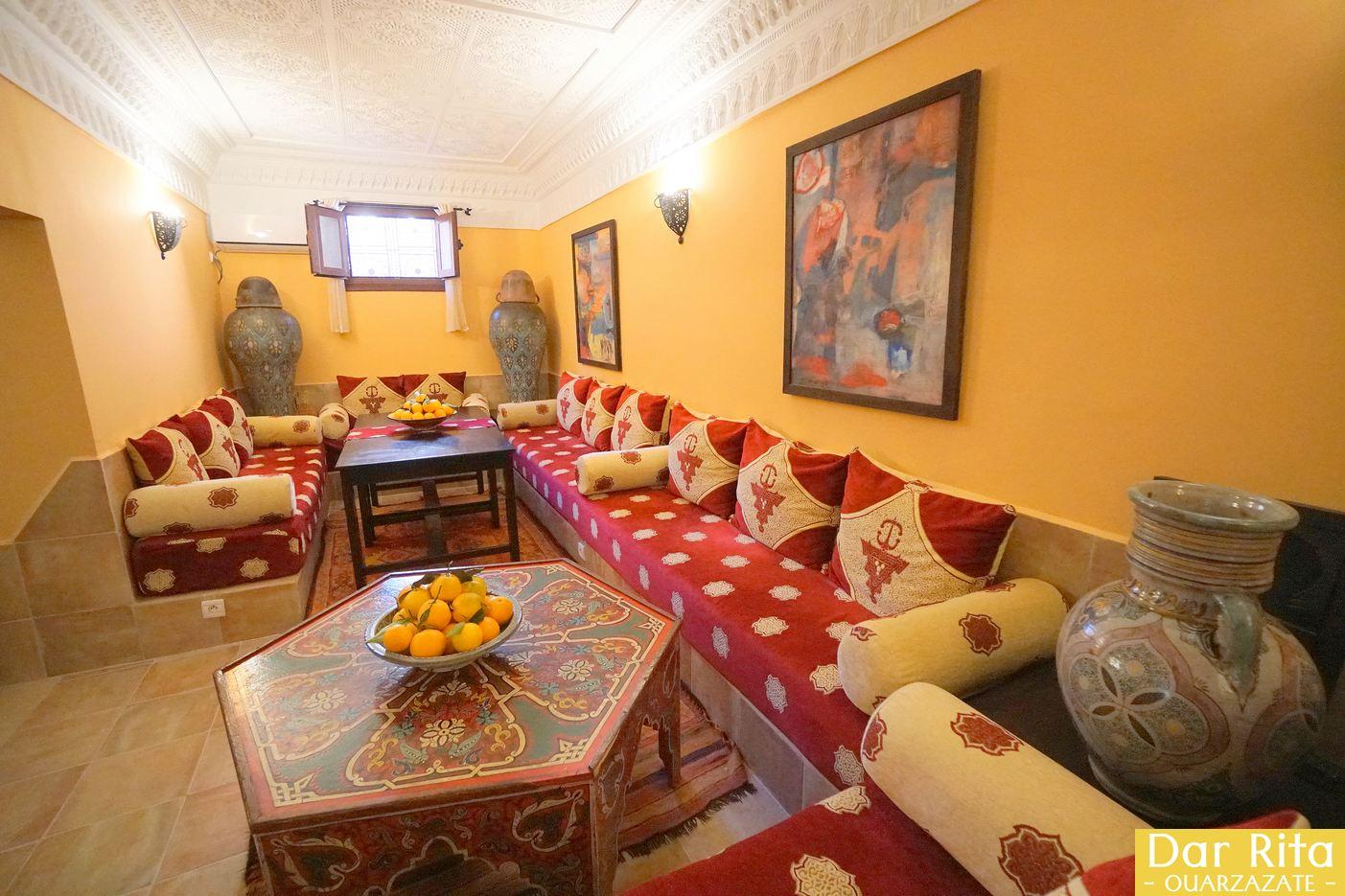 O meu hotel em Marrocos: Riad Dar Rita em Ouarzazate 2
