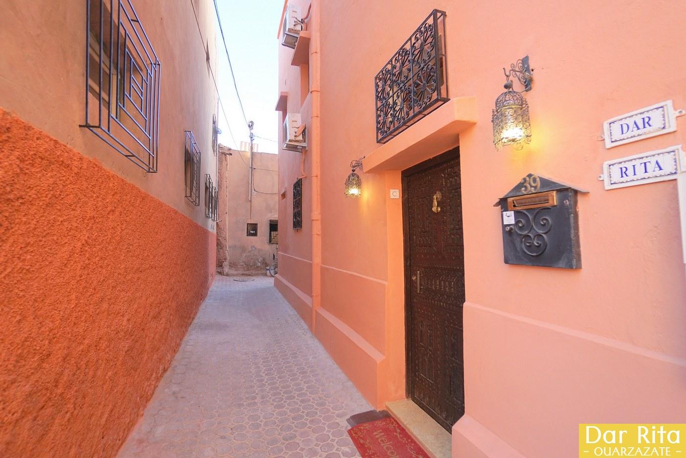 O meu hotel em Marrocos: Riad Dar Rita em Ouarzazate 1