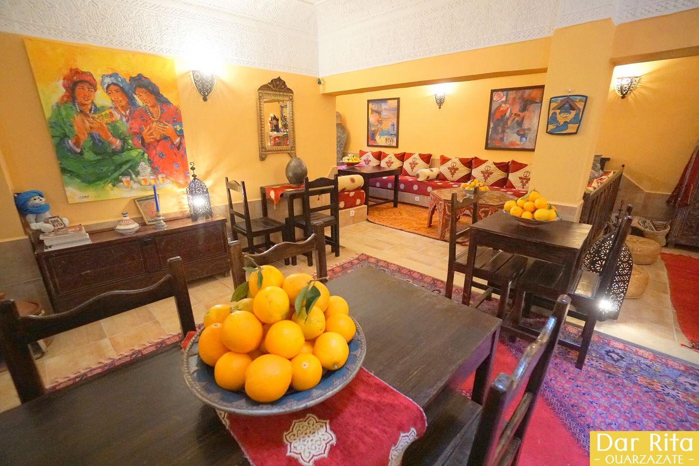 O meu hotel em Marrocos: Riad Dar Rita em Ouarzazate 3