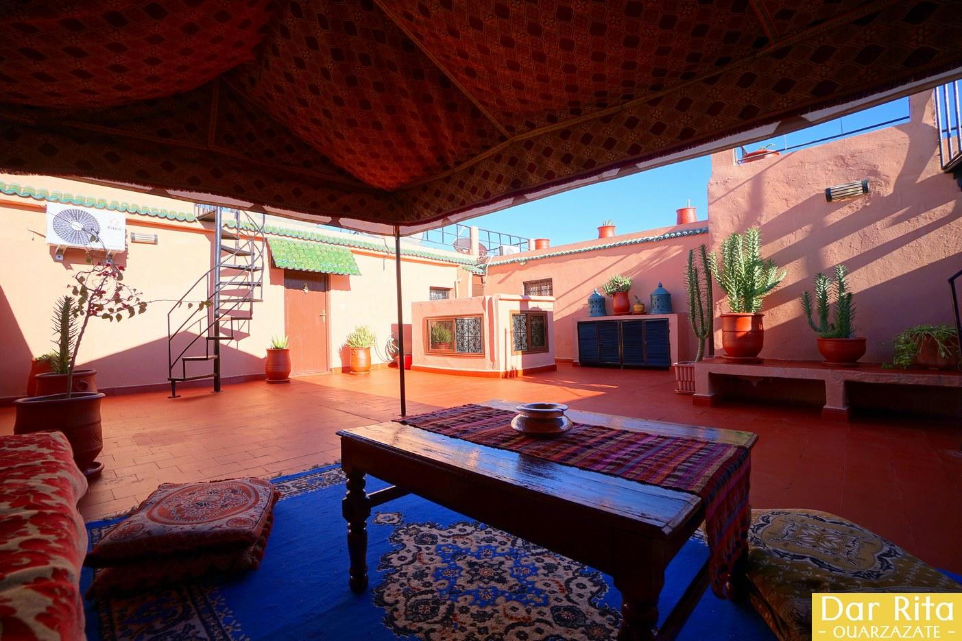 O meu hotel em Marrocos: Riad Dar Rita em Ouarzazate 4