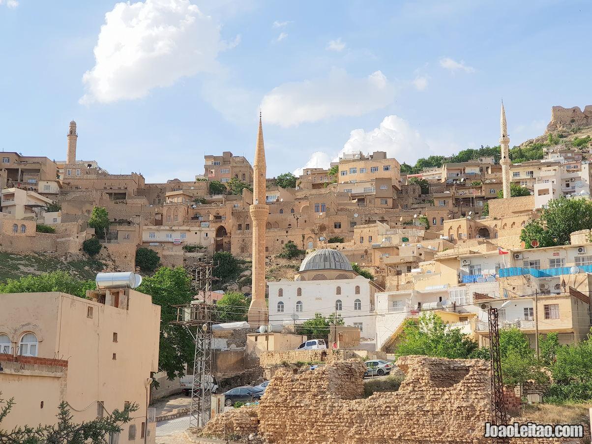 Cidade de Mardin na Turquia
