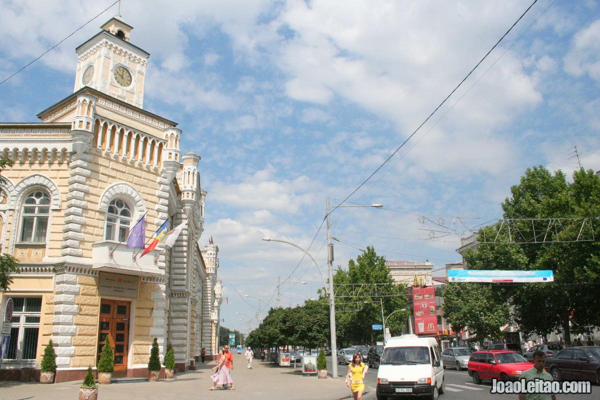 Roteiros de Chisinau