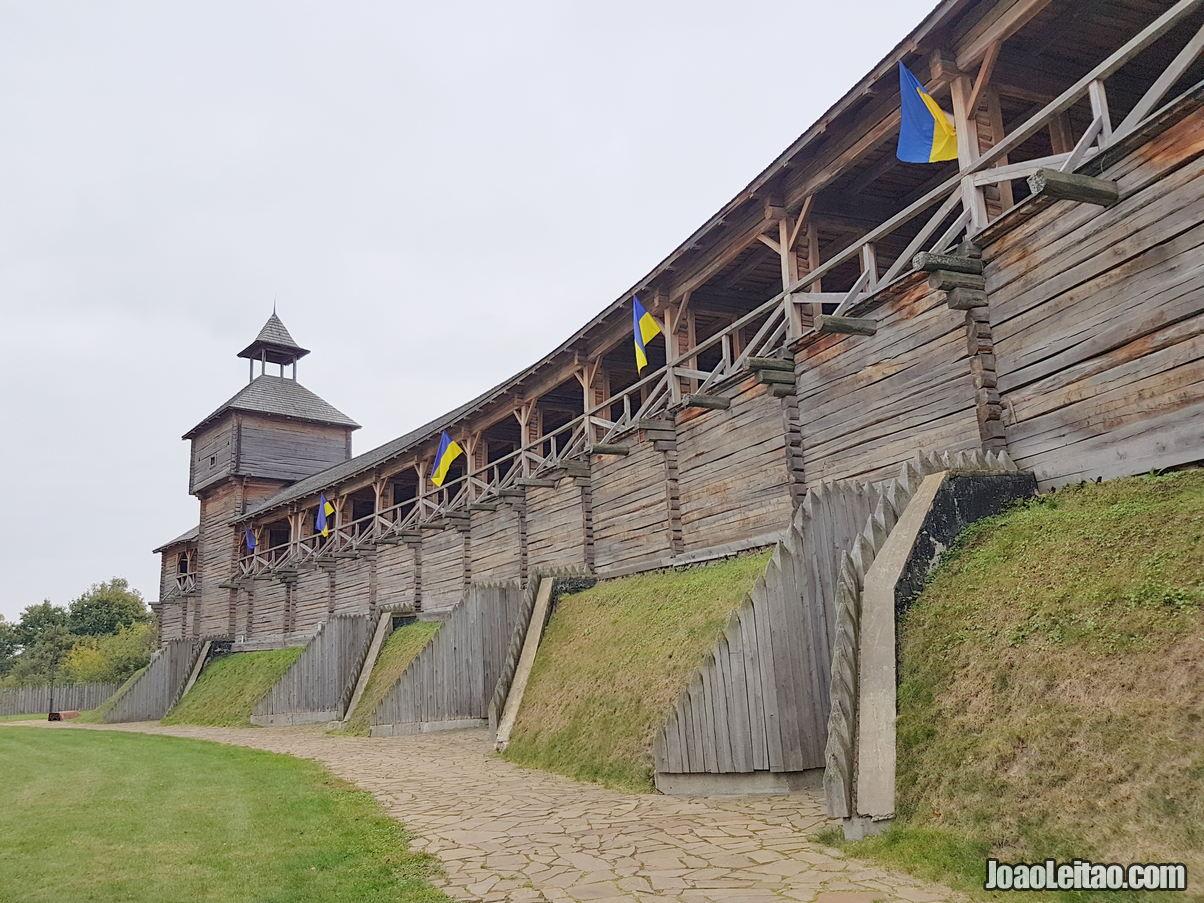 Os mais famosos monumentos em Baturyn