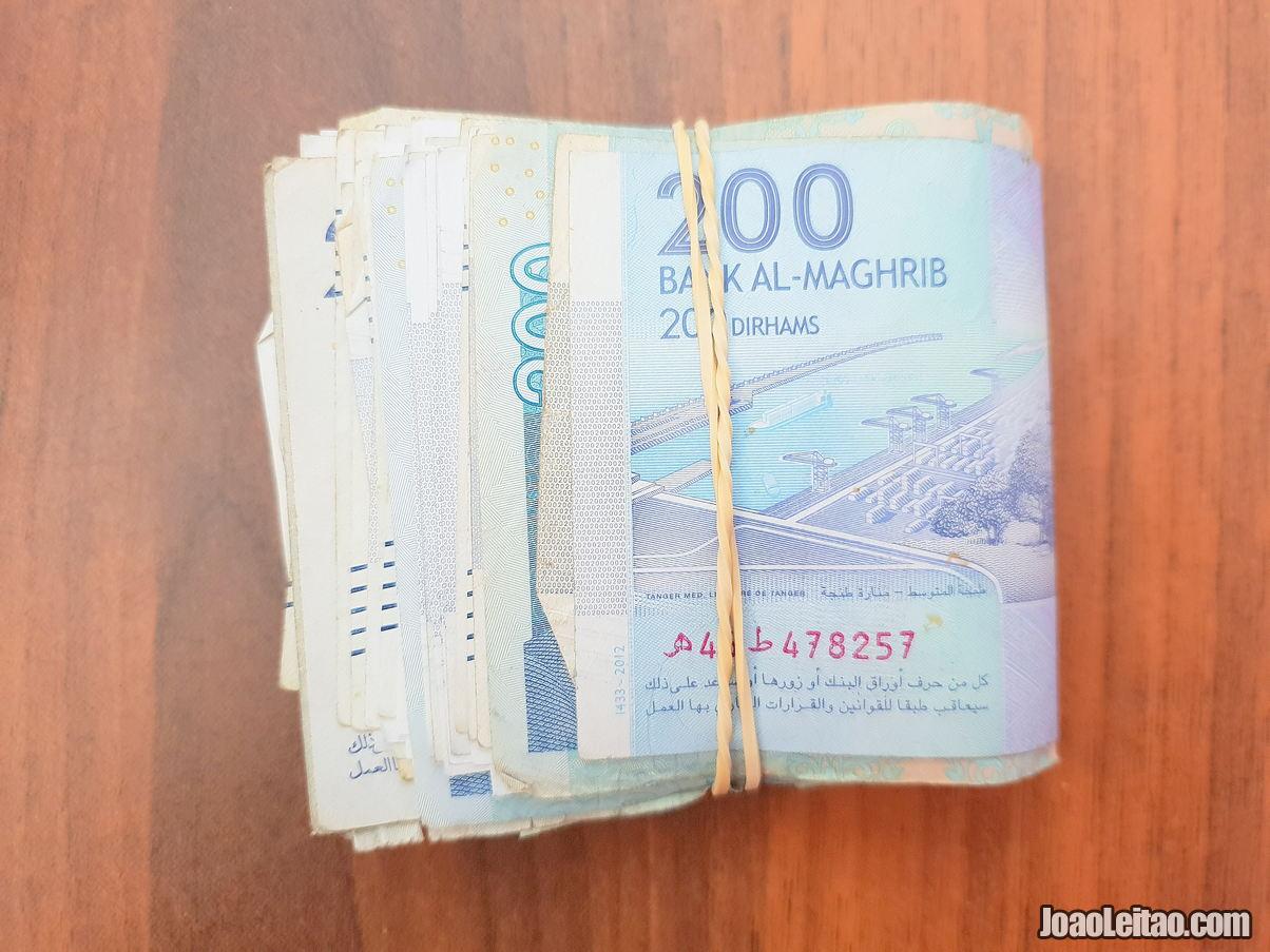 Dinheiro de Marrocos