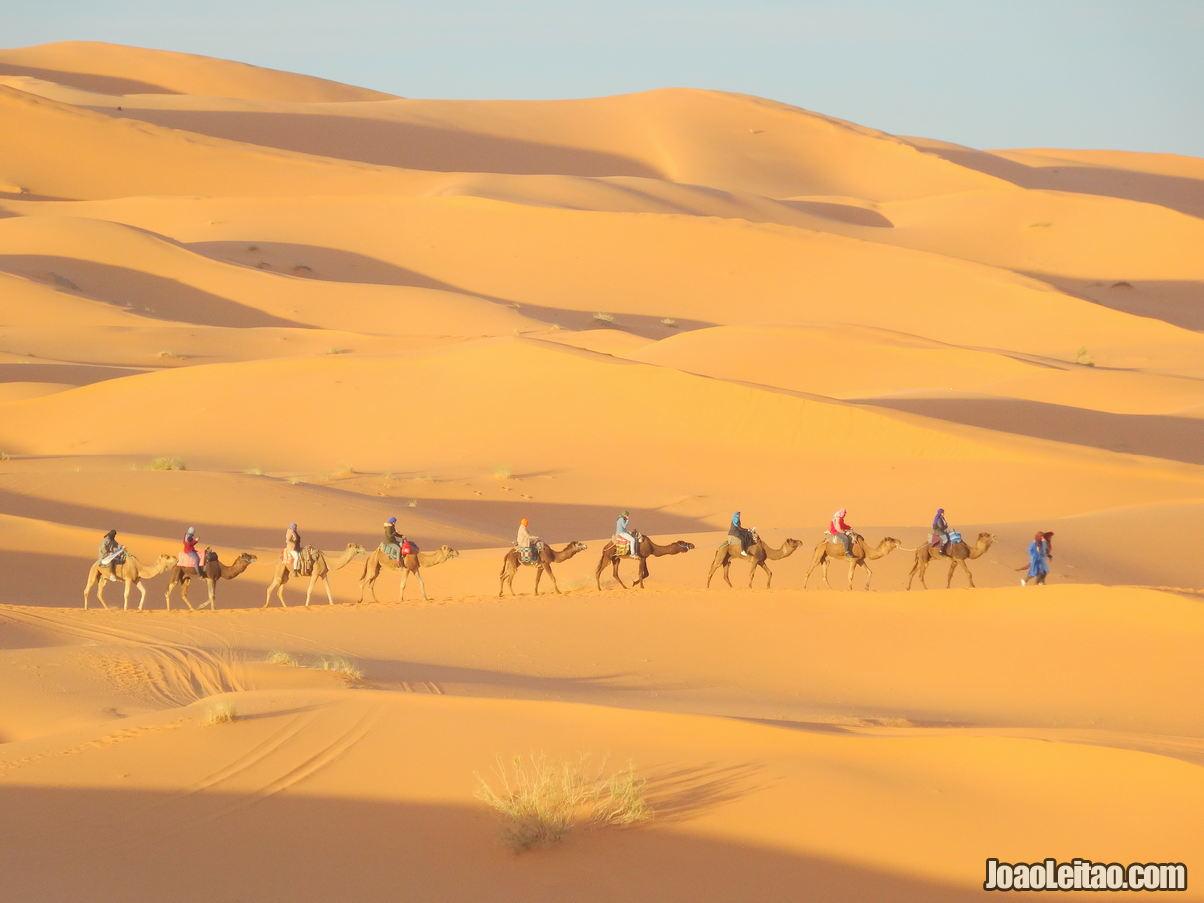 Dunas de Erg Chebbi Marrocos