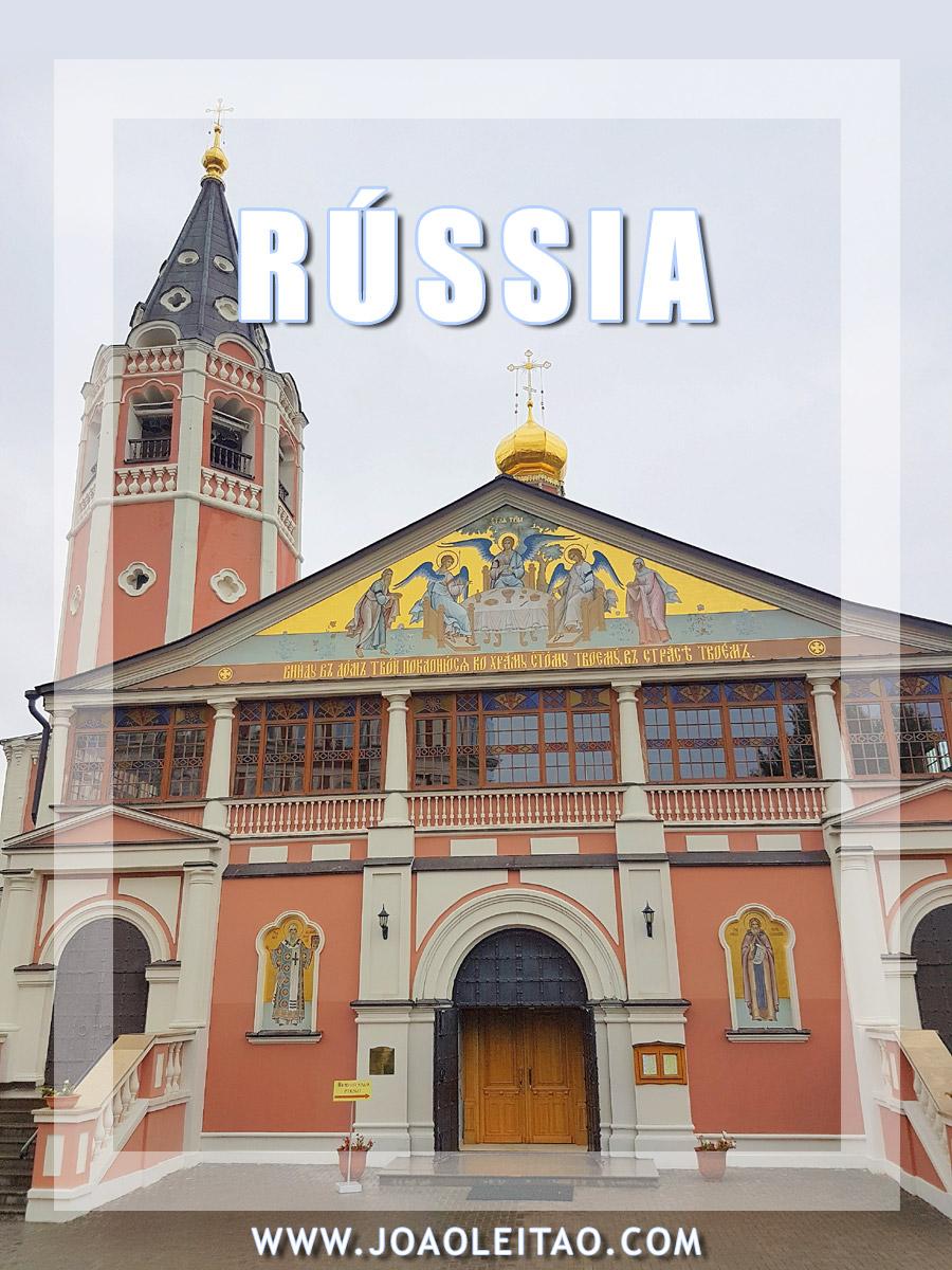 Pontos turísticos da Rússia