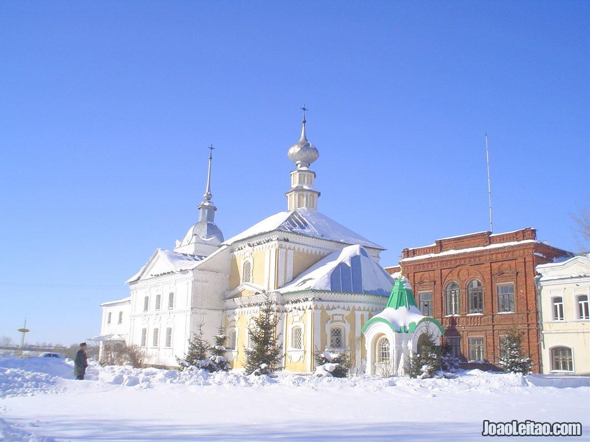 Roteiros em Suzdal