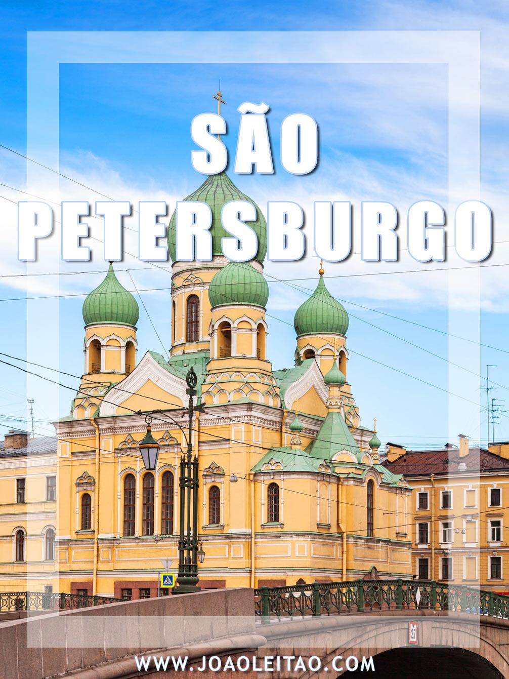 Visitar São Petersburgo Rússia