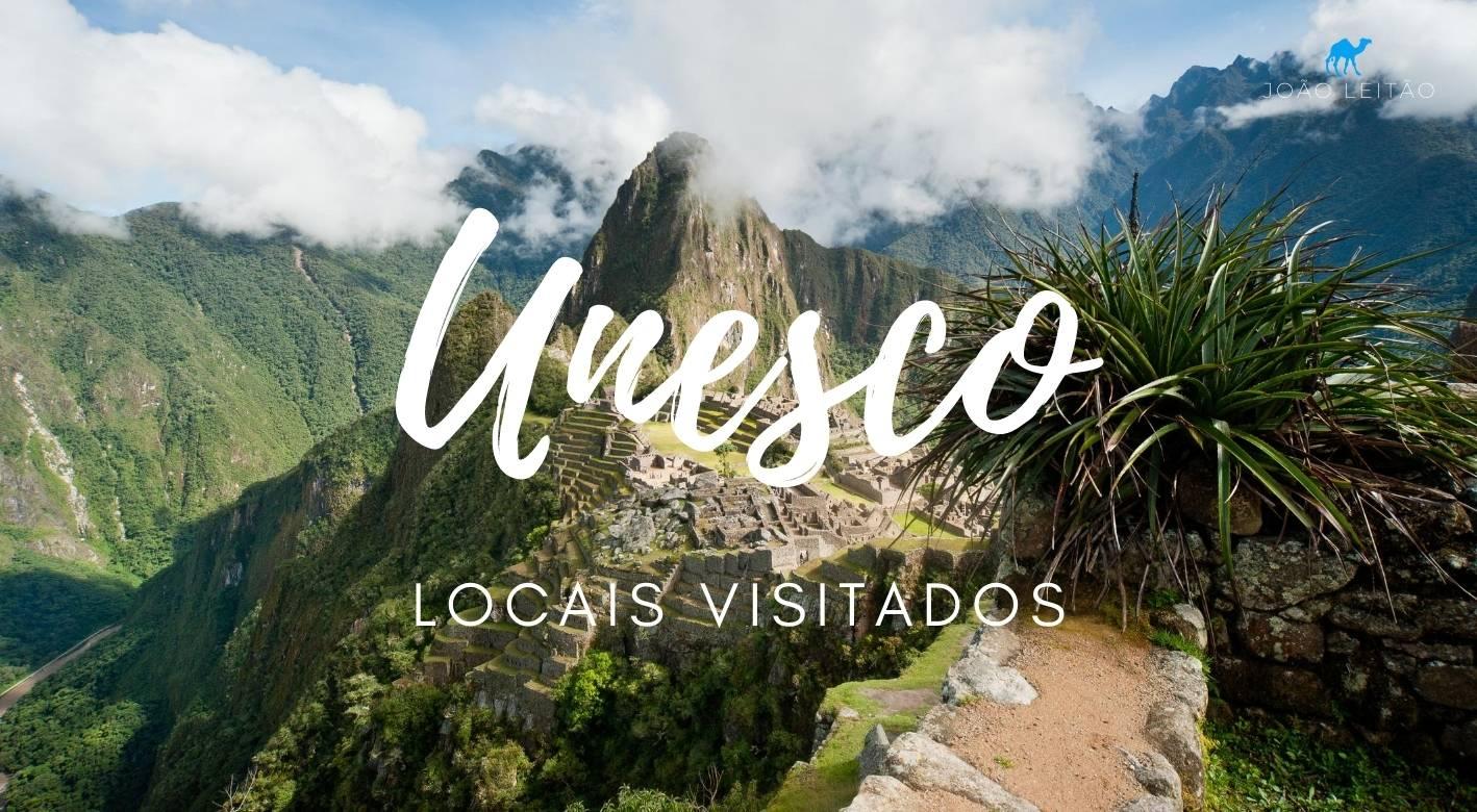 Locais UNESCO visitados