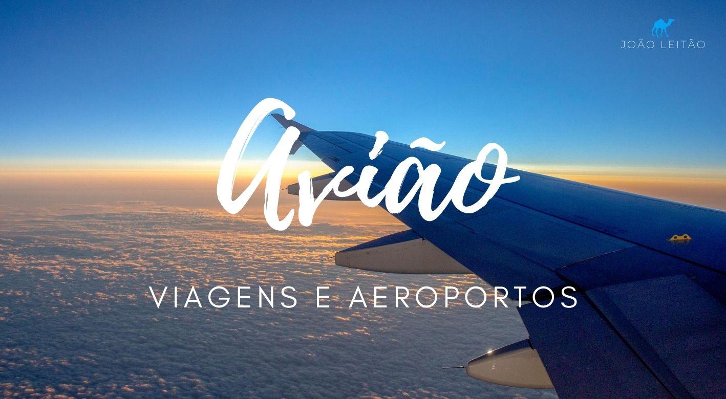 viagens de avião e lista de aeroportos