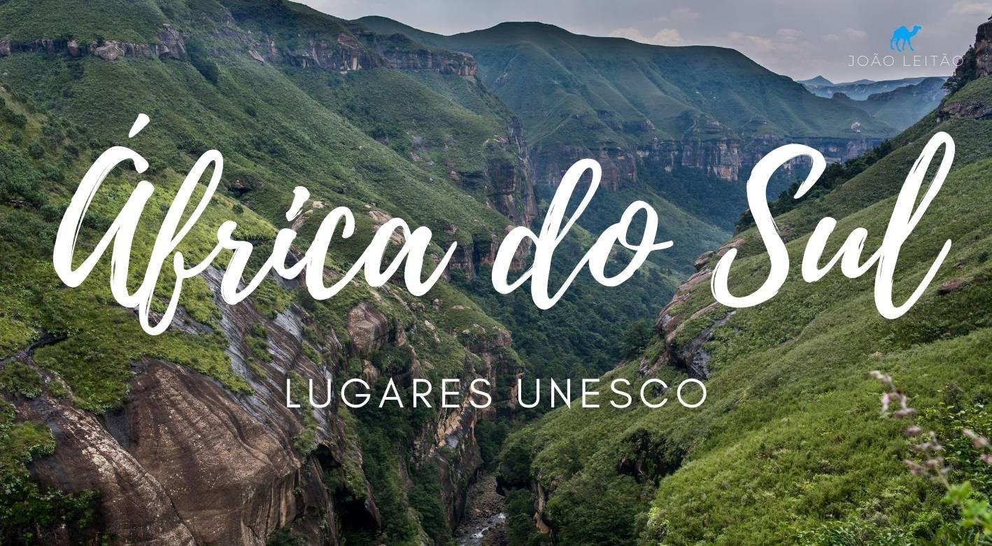 Locais UNESCO na África do Sul