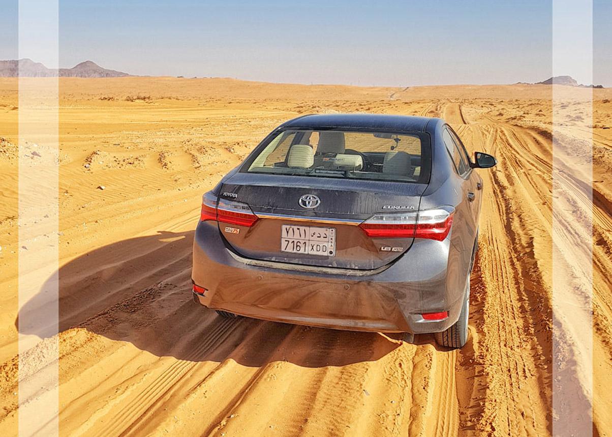 VIAJAR DE CARRO NA ARÁBIA SAUDITA
