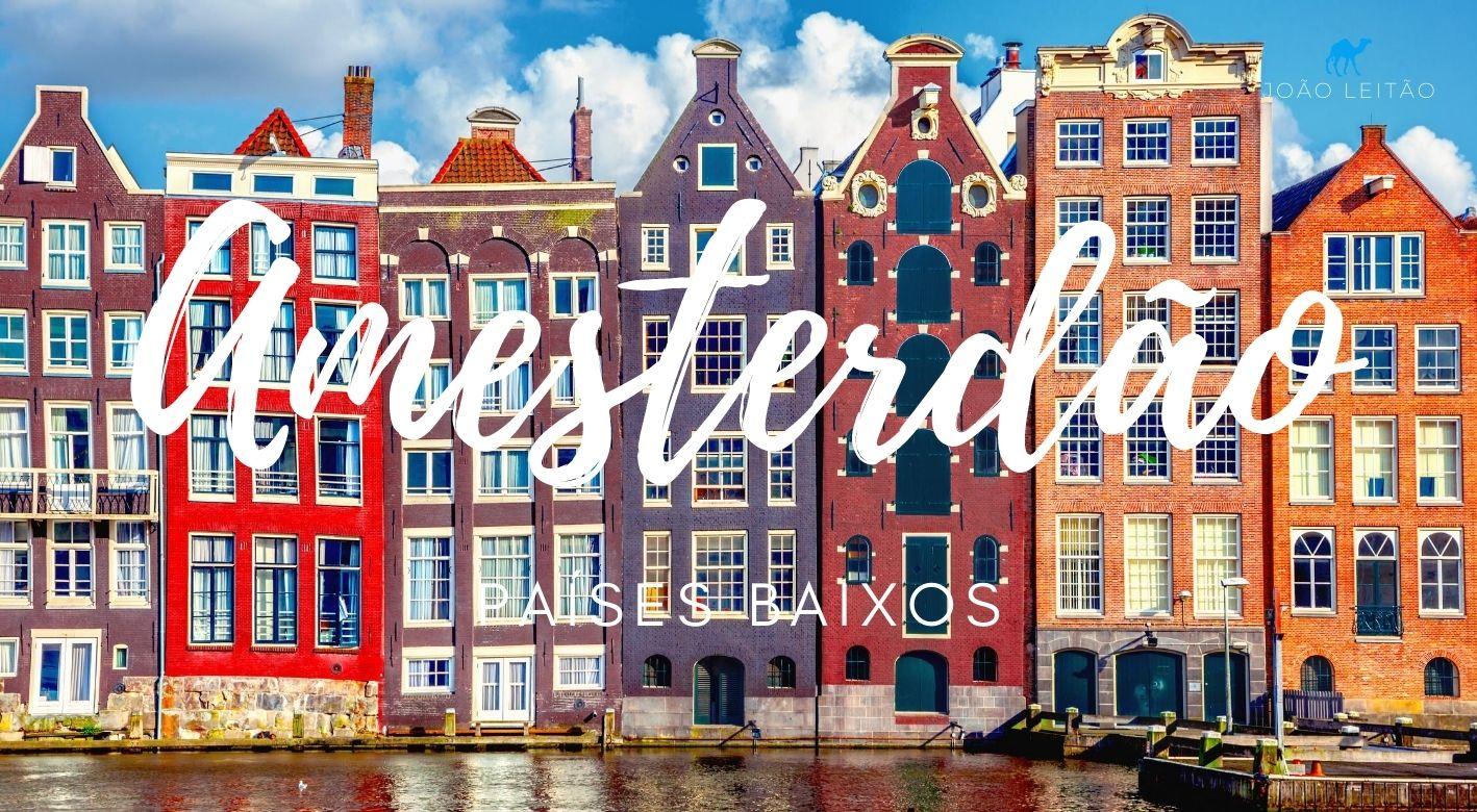 Visitar Amesterdão nos Países Baixos