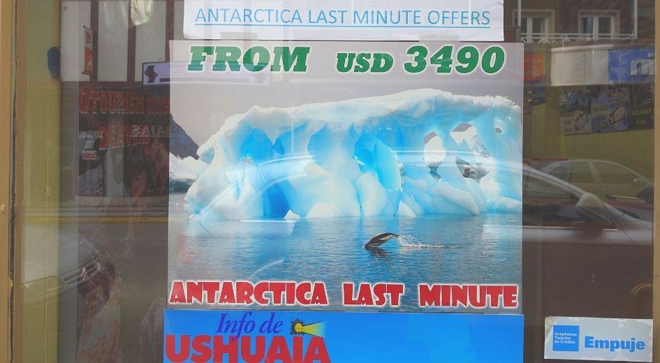 Antarctica Last Minute
