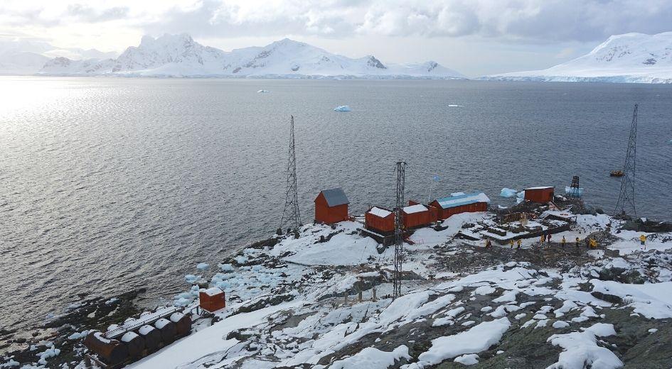 Duração da viagem na Antártida