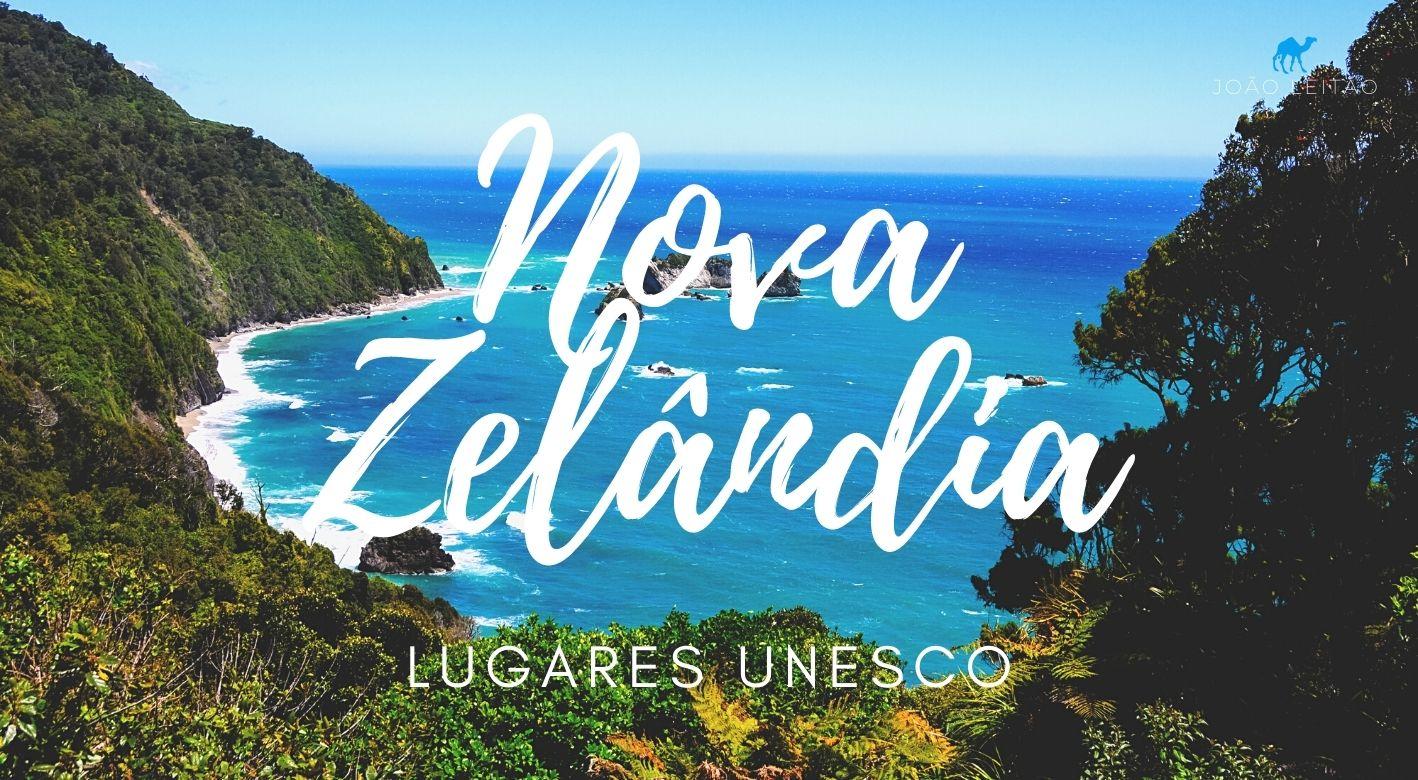 Locais UNESCO na Nova Zelândia