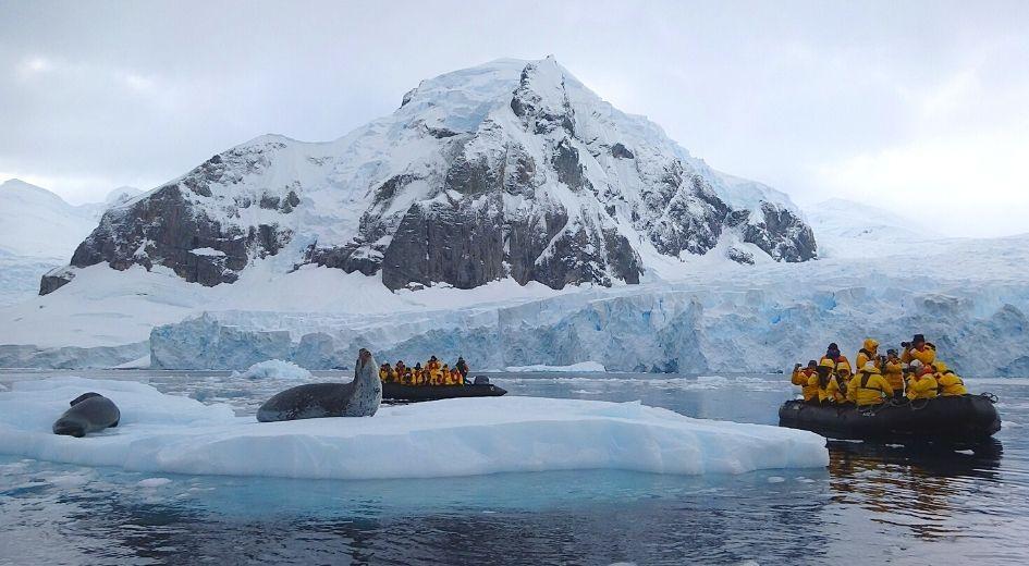 Região da Antártida a visitar