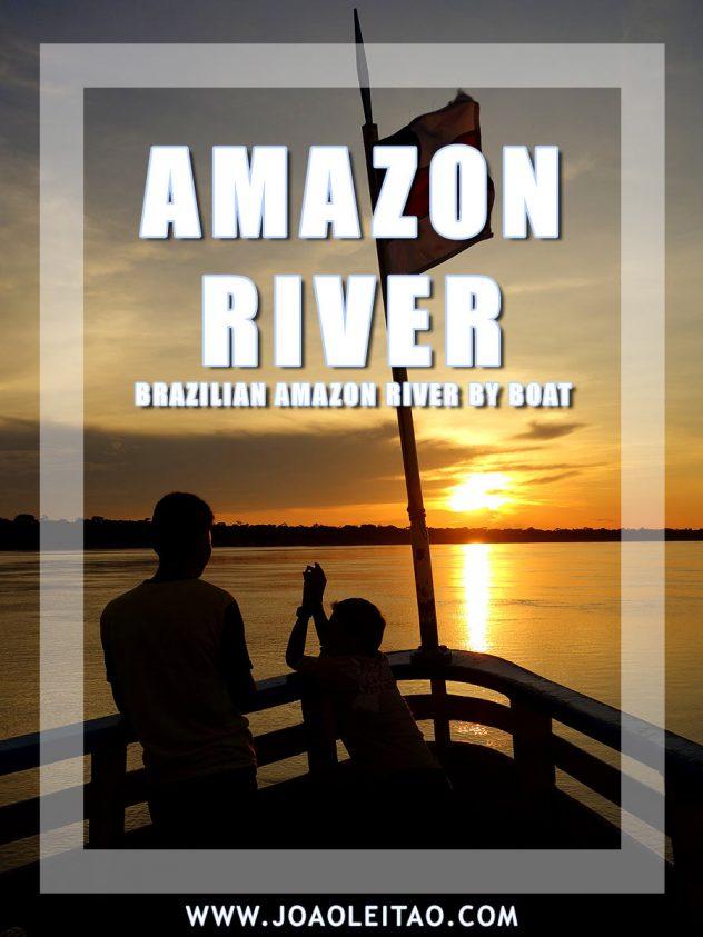 Brazilian Amazon River by Boat