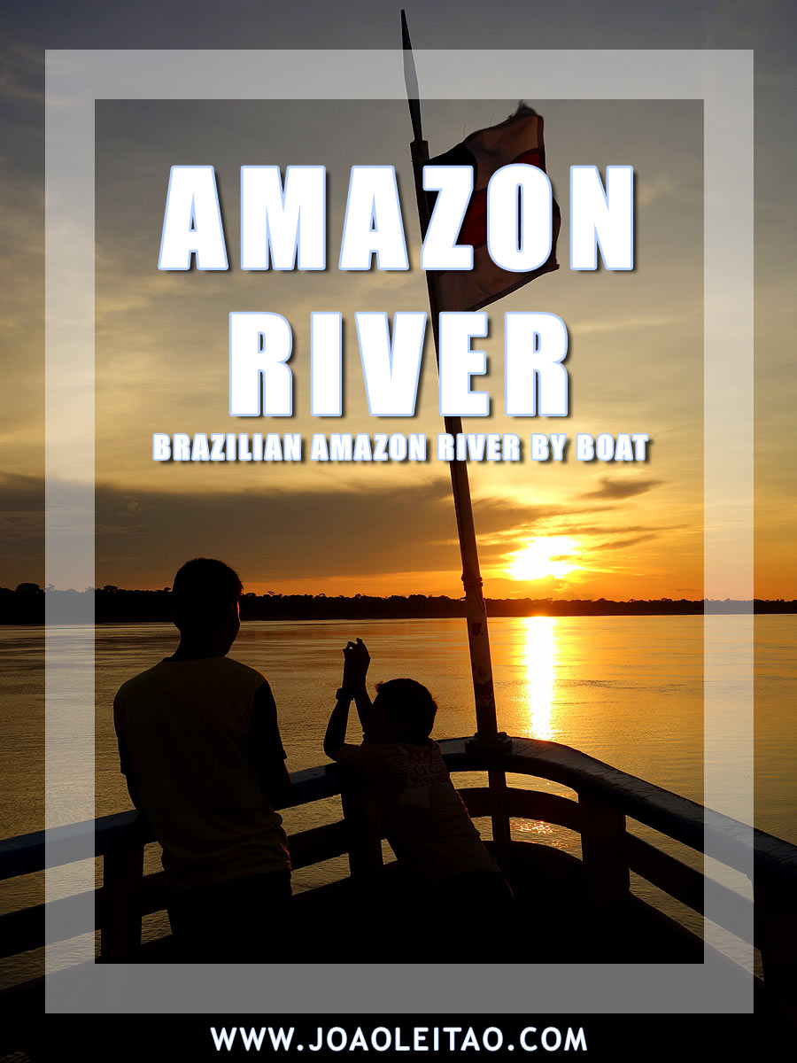 Brazilian Amazon River by Boat