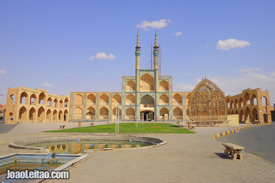 Amir Chakmak Mosque in Yazd - Monuments and Sightseeing in Iran