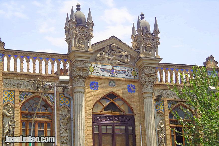 Architecture Tehran - Visit Iran