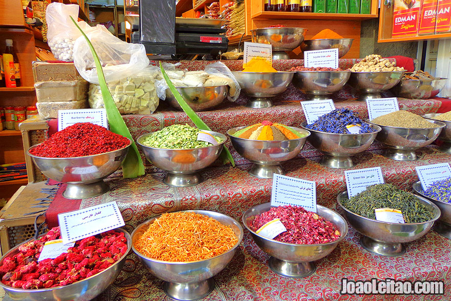 Market Bazar No in Shiraz - Where to go in Iran