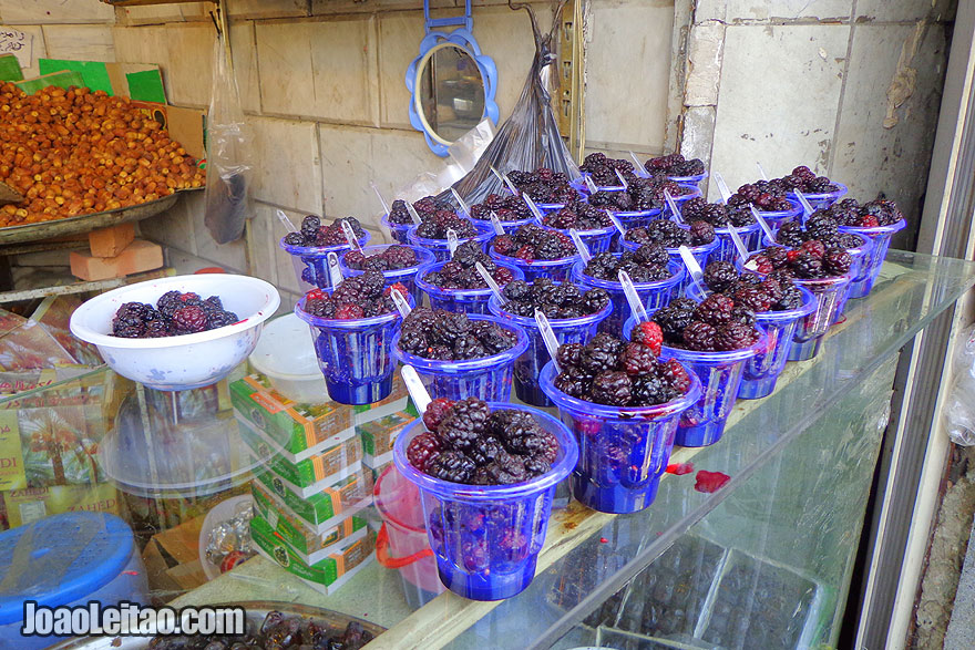 Fresh Blackberries - What to eat in Iran