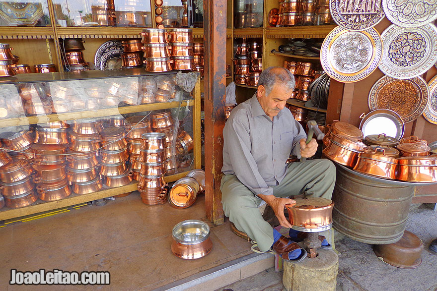 Skillful Iranian Craftsmen - What to buy in Iran