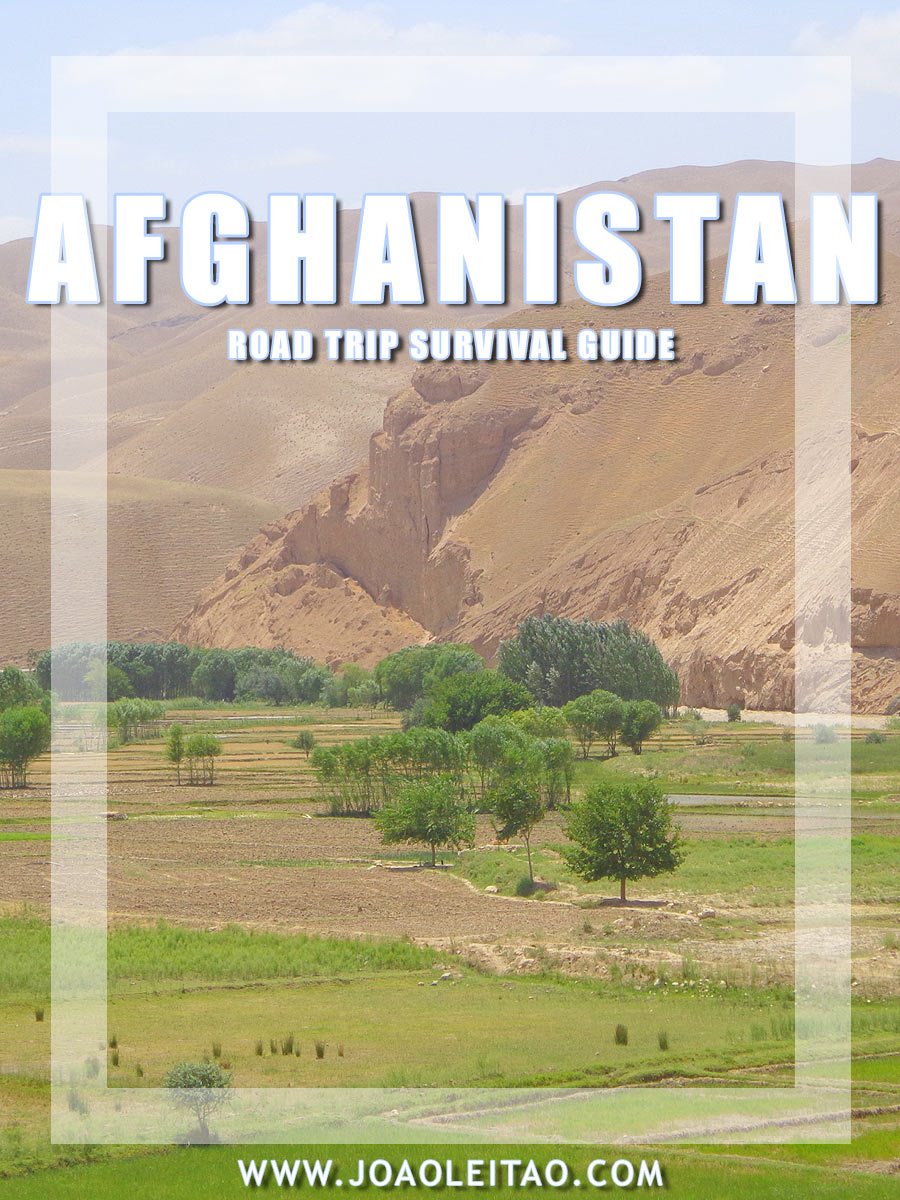 Driving in Afghanistan, South Asia - Road trip Survival Guide
