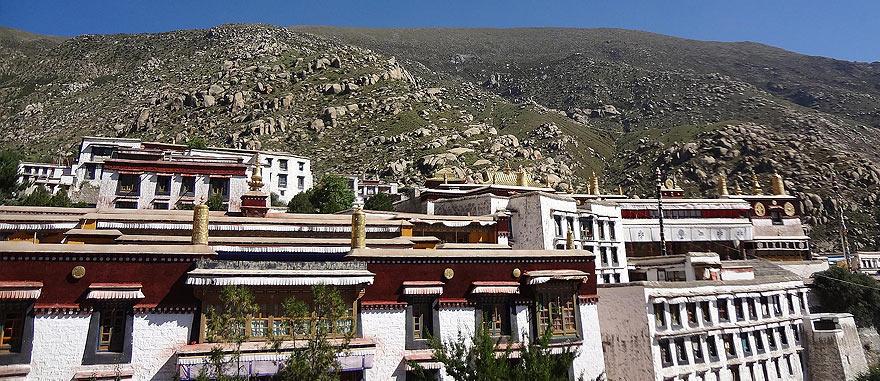 Drepung Monastery in Lhasa, Tibet