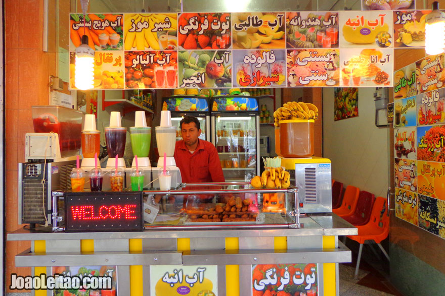 Fresh Fruit Juices - What to drink in Iran