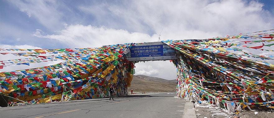 Gyatso La Pass 17217 ft / 5248m