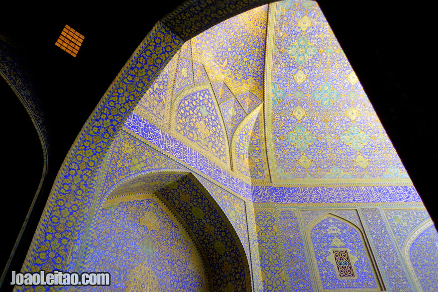 Imam Mosque in Isfahan - Religion in Iran