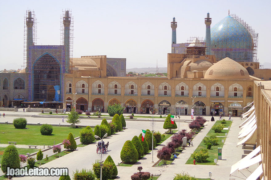 Jameh Mosque in Isfahan built in 1611 - UNESCO Sites in Iran