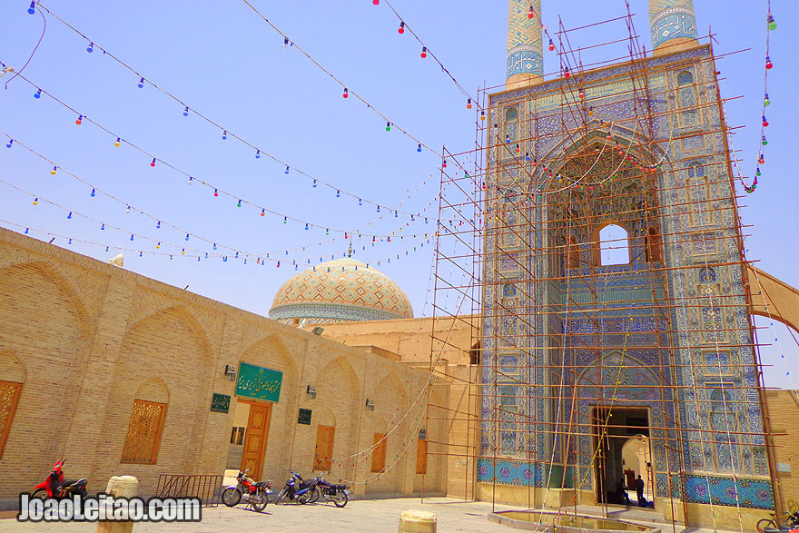 Jameh Mosque in Yazd - What to visit in Iran