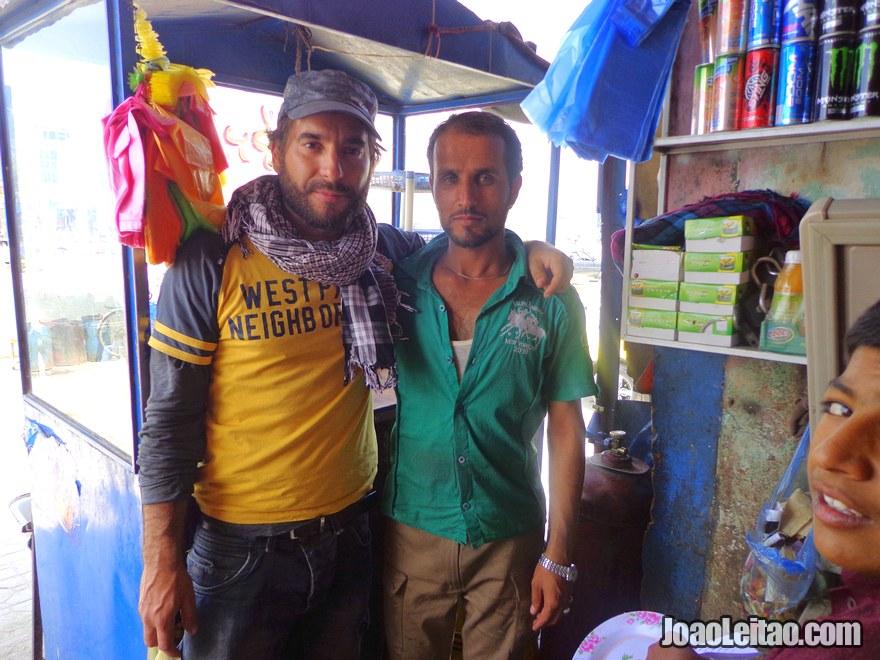 Restaurant worker in the city of Mazar