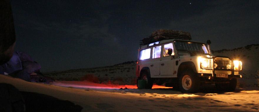 Expedição no deserto da Mauritânia