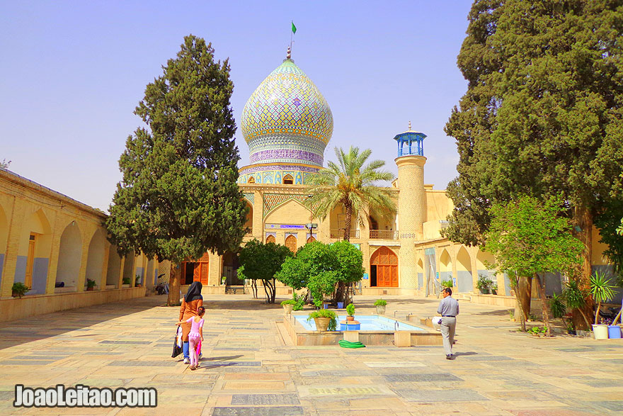 Mausoleum of Imamzadeh-ye Ali Ebn-e Hamze in Shiraz - Religion in Iran